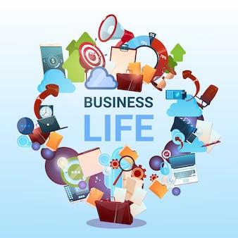 Öffnen sie aktenkoffer-marketing-teamwork-dokument und ziel-geschäftsleben-konzept