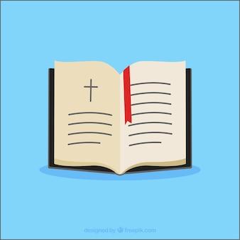 Öffnen sie bibel sammlung