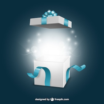 Öffnungs present box