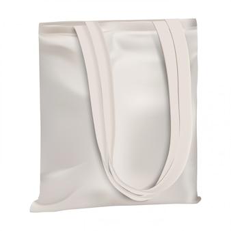 Öko-tasche. einkaufstasche aus baumwolle
