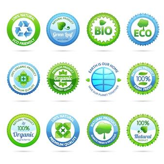 Ökologie-etiketten-set