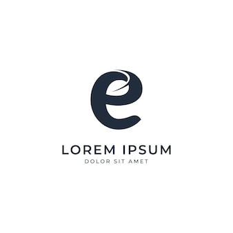 Ökologie-logo-vorlage
