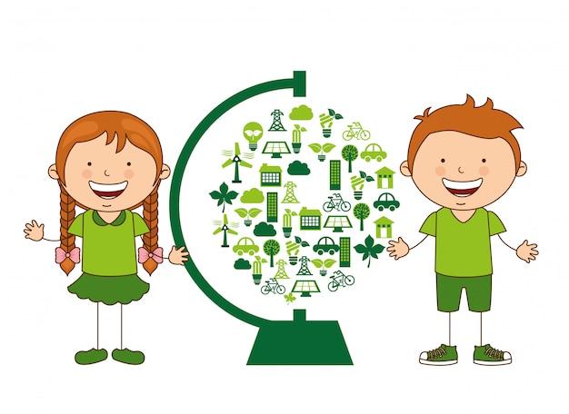 Ökologische kinder