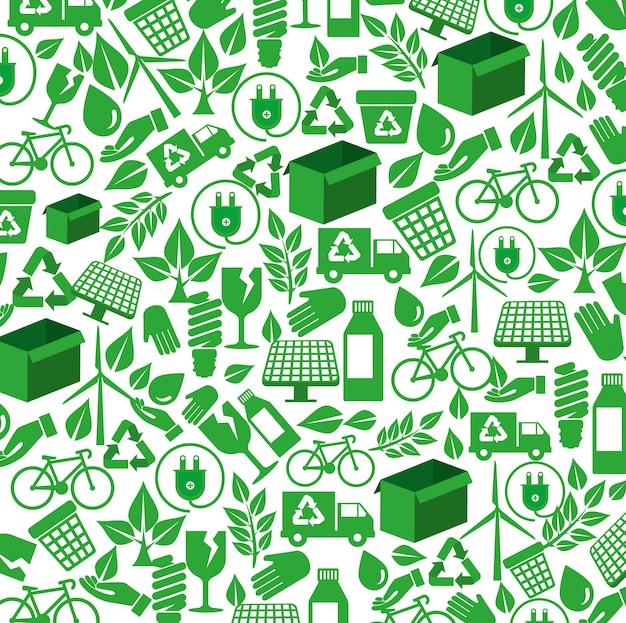 Ökologisches element zum umweltschutzhintergrund
