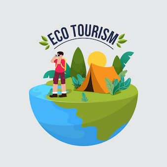 Ökotourismus-konzept