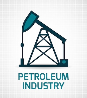Ölindustrie-plakat