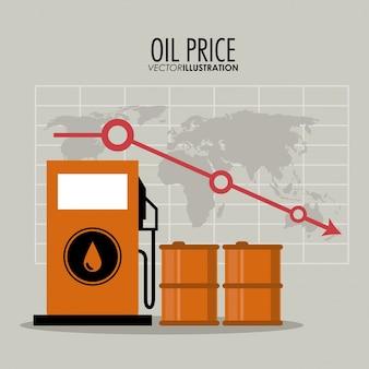 Ölpreis-design