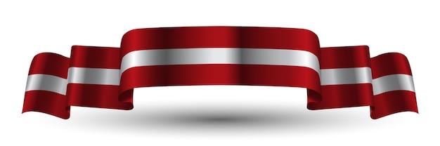 Österreich-band-flagge