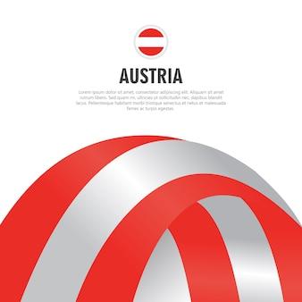 Österreich-unabhängigkeitstag-vektor-schablonen-design-illustration