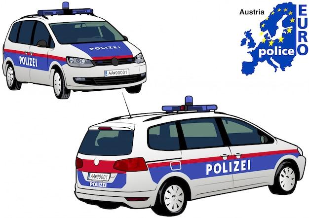 Österreichischer polizeiauto
