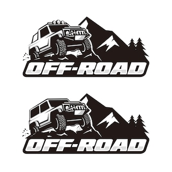 Off-road-logo-vorlage