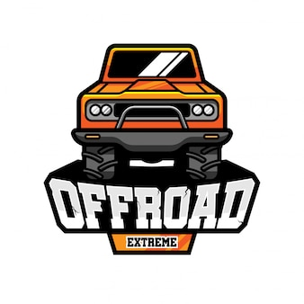 Off road vector logo