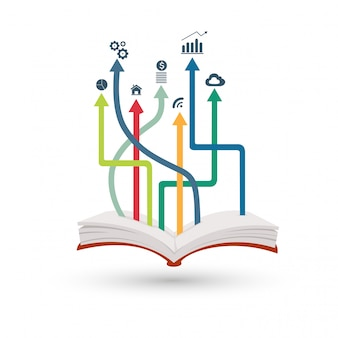 Offenes Buch Infografik
