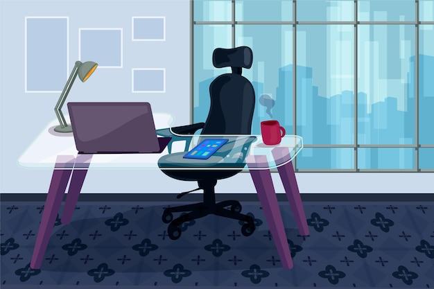 Office-hintergrund für videokonferenzen