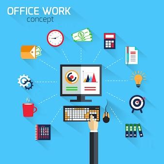 Office-symbole sammlung