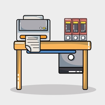Office-symbolelement zum informationsbericht