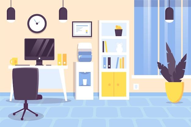 Office wallpaper für videokonferenzen