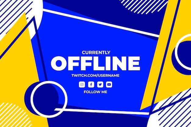 Offline zuckende banner vorlage
