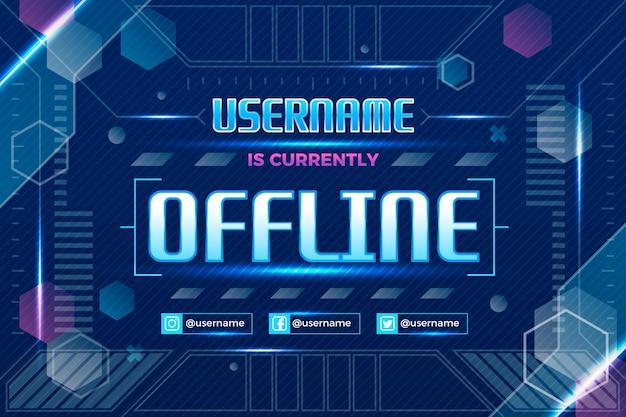 Offline zuckendes banner