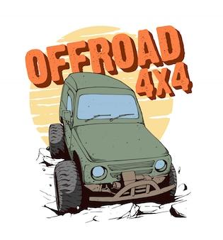 Offroad 4x4 für abenteuer