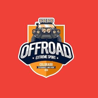 Offroad-sport-logo-vorlage