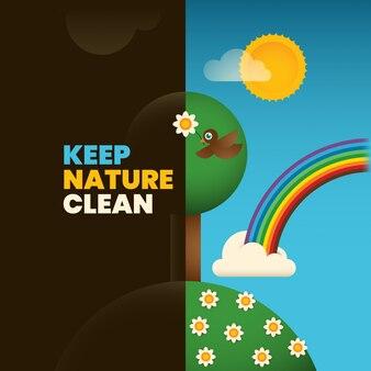 Ökologie-Hintergrund