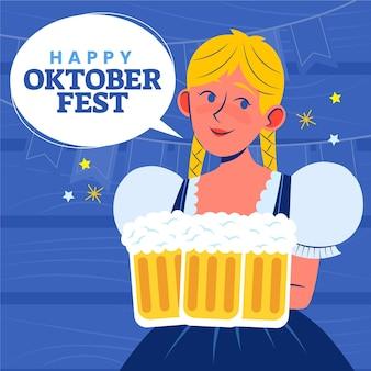 Oktoberfest-abbildung