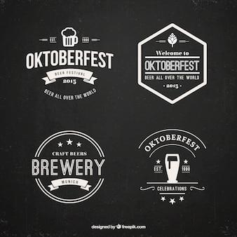 Oktoberfest abzeichen-set
