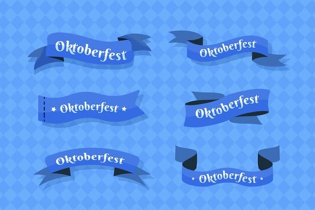 Oktoberfest-bänder-kollektion