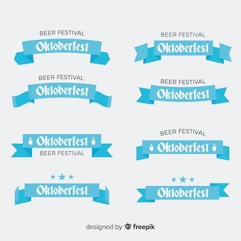 Oktoberfest band oder girlande sammlung