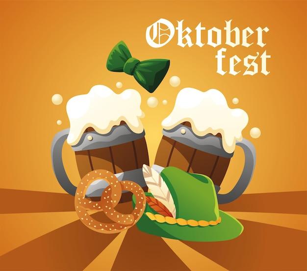 Oktoberfest bier poster