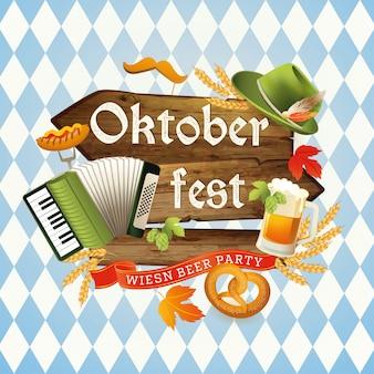 Oktoberfest bierfest.
