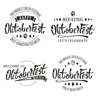 Oktoberfest-bierfestival