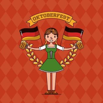 Oktoberfest deutschland feier