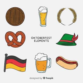 Oktoberfest-elemente festgelegt