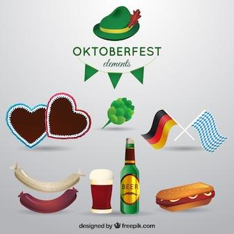 Oktoberfest elemente sammlung