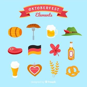 Oktoberfest-elementsammlung