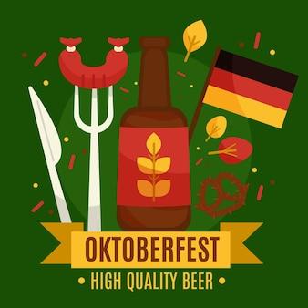 Oktoberfest feier stil