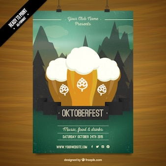 Oktoberfest-festival-plakat