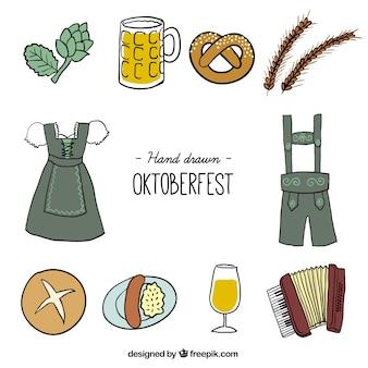 Oktoberfest icon collection