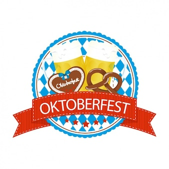 Oktoberfest label-design