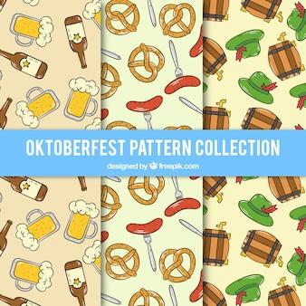 Oktoberfest, muster sammlung