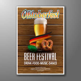 Oktoberfest-plakat-vektor-illustration