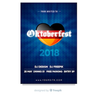 Oktoberfest-plakat