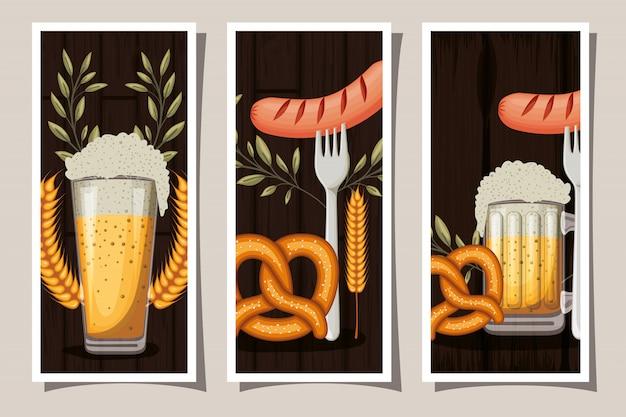 Oktoberfest-plakatsammlung