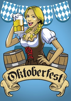 Oktoberfest poster veranstaltung