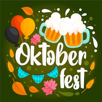 Oktoberfest veranstaltung