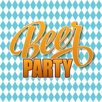 Oktoberfest-vintage-plakat. feier zum bierfest. vektor-illustration. eps 10