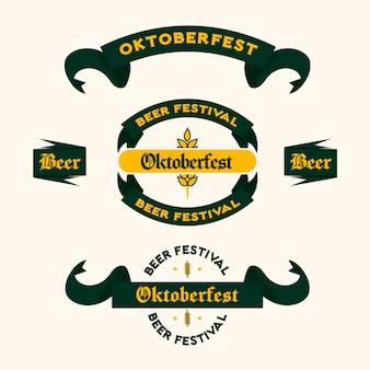 Oktoberfestbänder gesetzt