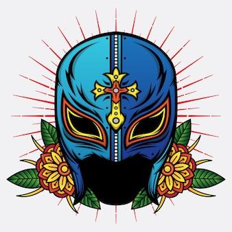Old school mask wrestler